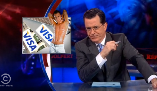 Colbert: Gays Are Less Stressed Than Straight People