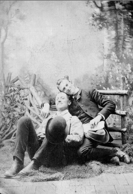 Lgbt History Photos Of Gay Couples From The 1880s 1920s Tbt March 21 2013 The Gaily Grind