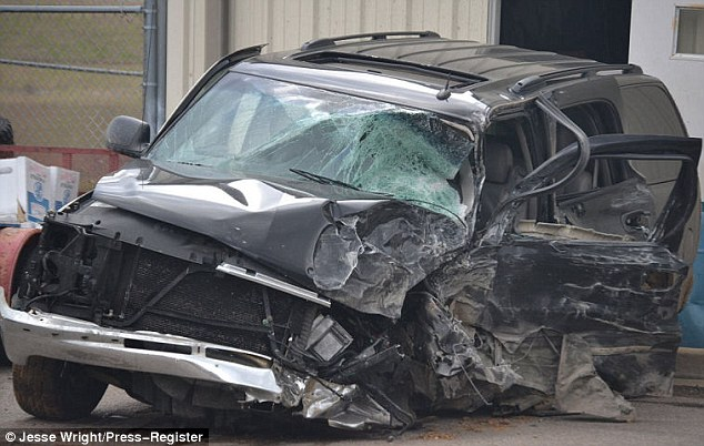 The SUV of Marco McMillian was involved in a head-on collision on Tuesday morning and Reed was driving