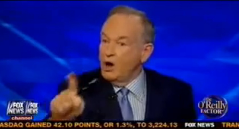"(Viral) Fox News' Bill O'Reilly Has A Melt Down On The Air: ""Liar Liar"""