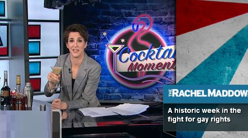 (Watch) Rachel Maddow Celebrates 'Historic Week' In The Gay Rights Movement