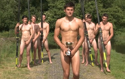 (Watch) British Rowers Pose Nude For UK's First LGBT Sports Training Center Opening