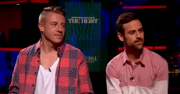 (Watch) Macklemore and Ryan Lewis Perform on the Colbert Report