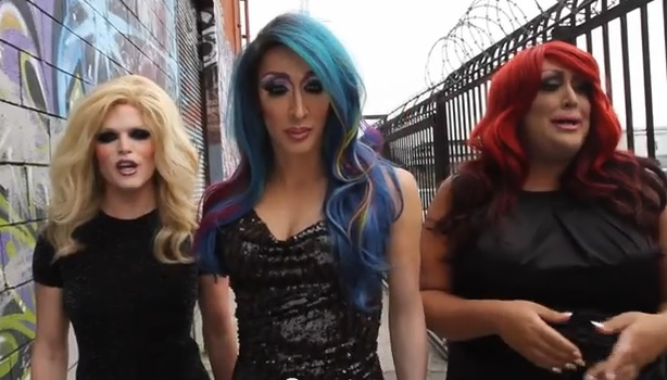 "(Watch) Drag Race's Veterans Detox, Willam and Vicky Vox Are Back WIth New Viral Hit ""Silicone"""
