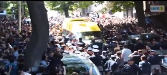 (Watch) Thousands of Violent Protesters Including Orthodox Priests, Attack Gay Pride Marchers in Tblisi, Georgia: Injuring 28