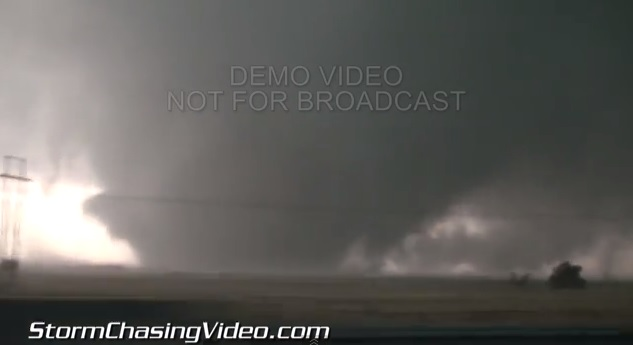 May 31 Deadly El Reno Tornado Becomes Widest Tornado on Record With Winds of 296 MPH and Was 2.6 Miles Wide*