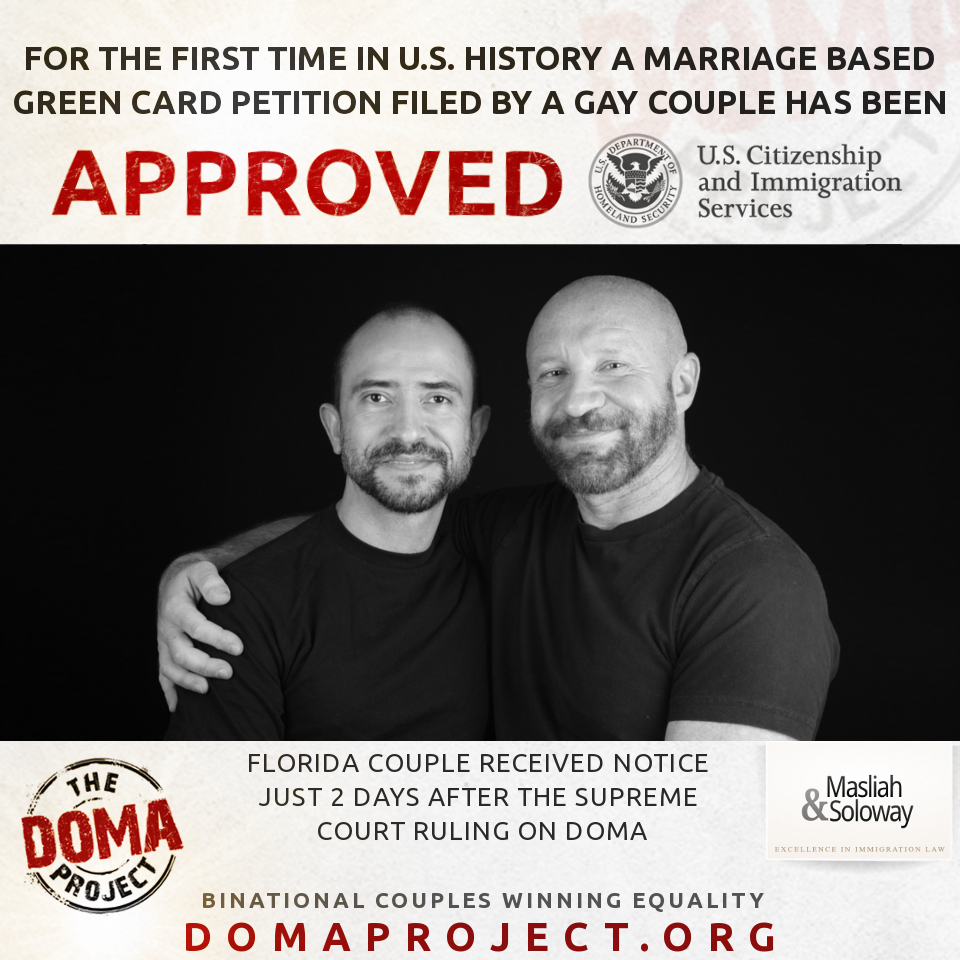 Florida Gay Couple Receive First Approval of Same-Sex ...