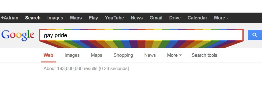 Google's Celebrates Gay Pride Month With Hidden Doodle