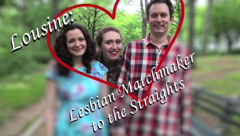 [Exclusive] Lousine: Lesbian Matchmaker To The Straights (Video)