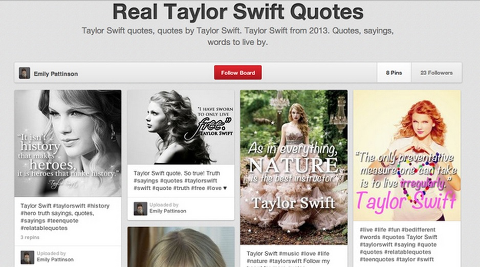 Pinterest User Attributing Hitler Quotes To Taylor Swift, And No One Noticed
