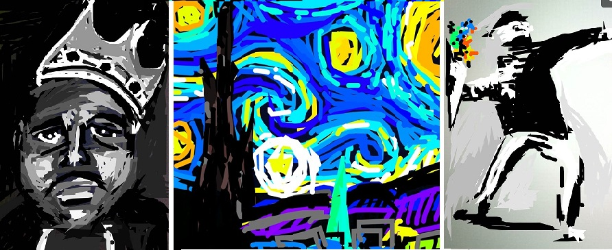 'The Snapchat Artist' Creates 10 Second Masterpieces