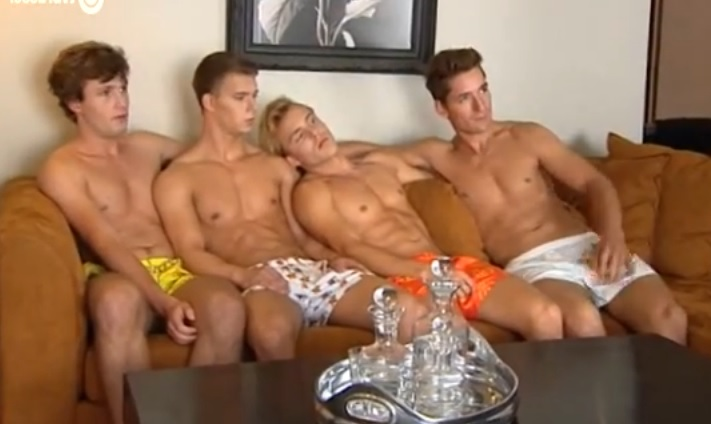 Hot Male Models Pose In Boxers To Protest Russia's Antigay Laws (Video)