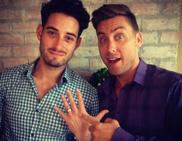Lance Bass Proposes To Boyfriend Michael Turchin