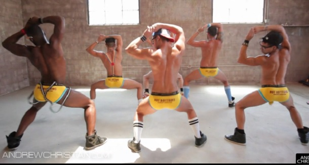 Andrew Christian Models Have a 'Twerk Off' In Latest Video Ad
