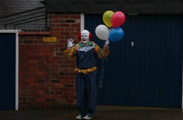Why Is A Creepy Clown Terrorizing a British Town?
