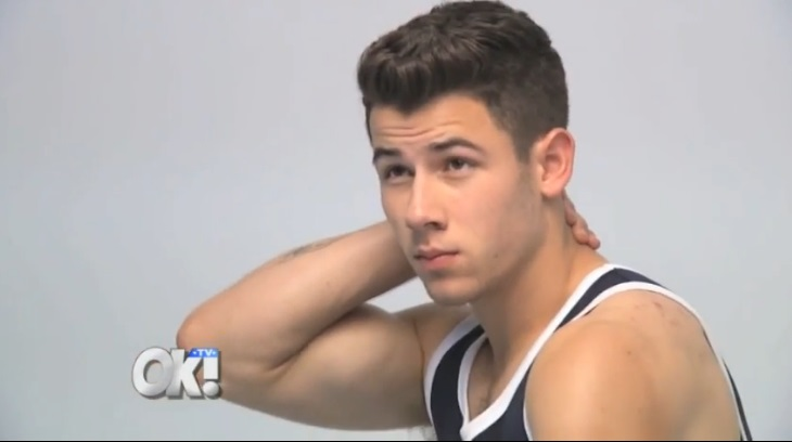 Nick Jonas Shows Off Some More Muscles At His 'Men's ...