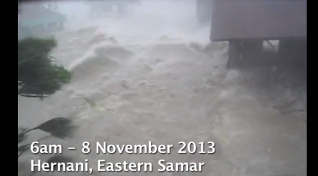 Watch: Horrifying Footage Of Super Typhoon Haiyan's Deadly Storm Surge