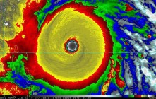 Super Typhoon Haiyan Slams Into The Philippines With Catastrophic Winds of 195mph and Gusts to 235mph
