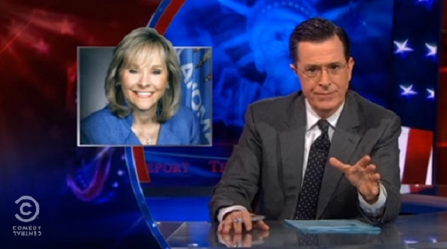 Stephen Colbert Destroys Oklahoma's Governor For Denying Same-Sex Military Couples Their Benefits