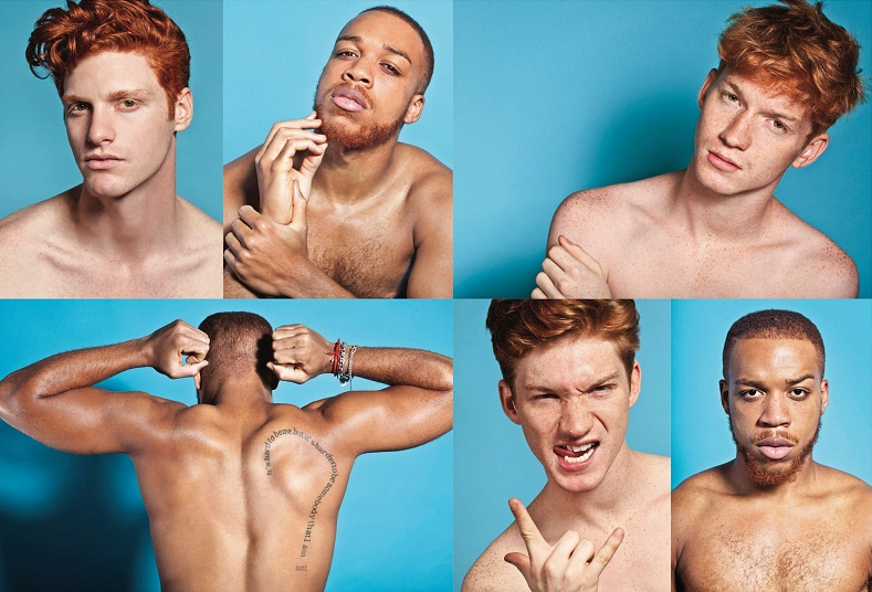 "Hunky Red Heads Join Photographer's ""Red Hot"" Campaign To Help End 'Ginger' Stigma"