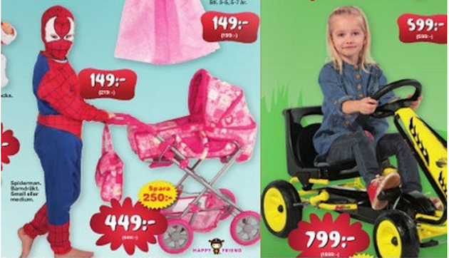 Toys 'R' Us To Advertise Toy Products 'Gender Neutrally' In The U.K.