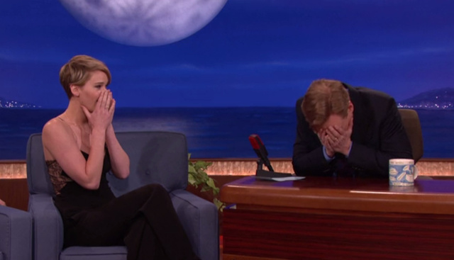 Jennifer Lawrence Tells Conan About The Time Her Maid Found Her Butt Plugs