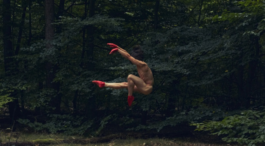 Photographer Captures Male Nude Dancers Posing In The Wilderness (NSFW)