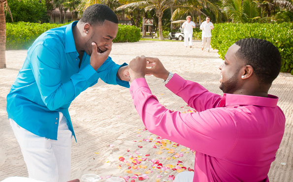 Watch This Emotional Beachfront Surprise Gay Marriage Proposal