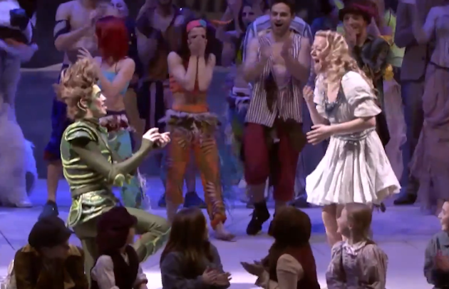 Watch Peter Pan's Adorable Proposal To Wendy During Live-Action Play