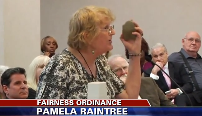 Trans Woman Dares Bible-Quoting City Councilman To Stone Her To Death (Video)