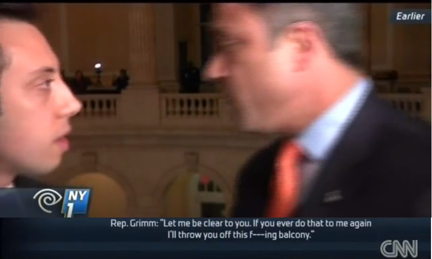 "NY GOP Congressman Tells Reporter ""I'll Throw You Off This F-cking Balcony"" On-Air"