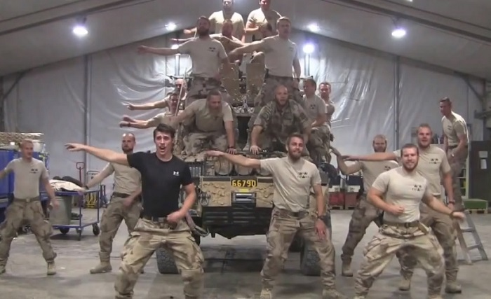 Hot Swedish Marines Lip-Sync 'Greased Lightning' In Afghanistan