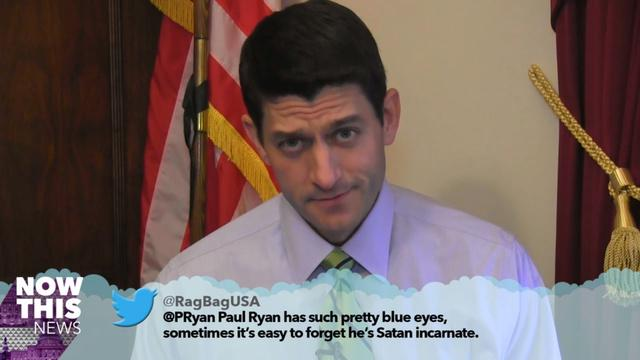 Watch Politicians Read Mean Tweets About Themselves