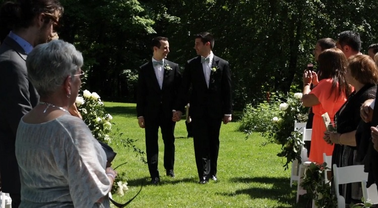 (Grab A Tissue) Adam and Richard's Beautiful Wedding Will Leave You With Tears Of Joy!