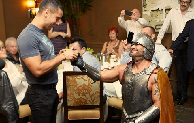 'Knight In Shining Armor' Proposes To His Boyfriend