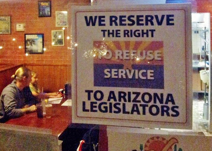 Arizona Pizzeria Gives Legislators A Taste of Their Own Medicine By Refusing Them Service