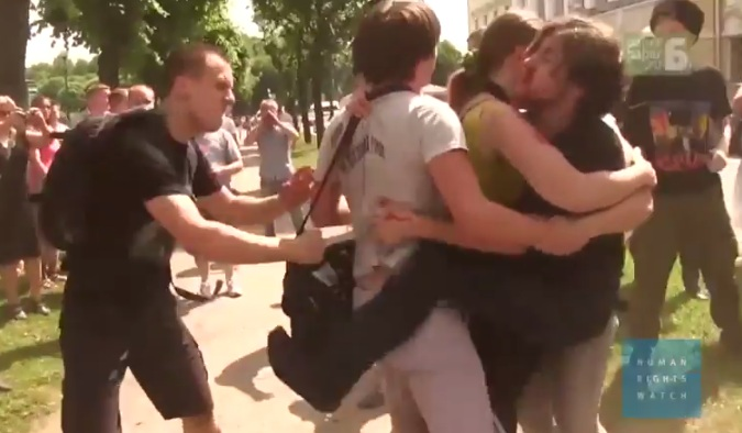 Disturbing Video Highlights The Horrific Violence Against LGBT People In Russia