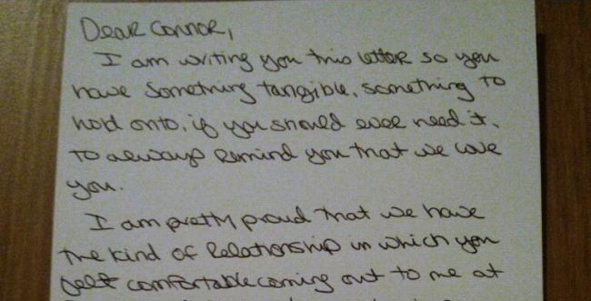 Mom Writes Beautiful Letter To Her Gay 13-Year-Old Son After His Coming Out