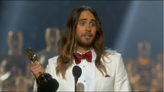 Jared Leto Dedicates Oscar To AIDS Victims And To LGBT People In Moving Speech