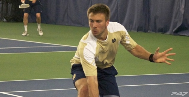 Watch What Happened When A Member of Notre Dame's Tennis Team Came Out As Gay