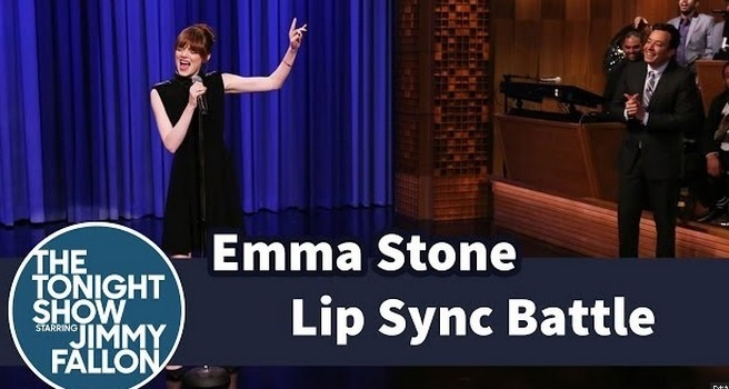 Emma Stone's Lip Sync Battle With Jimmy Fallon Is Everything!