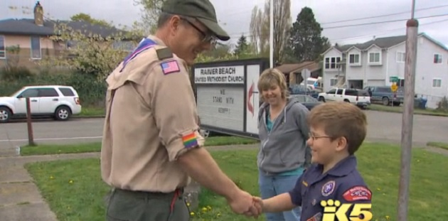 Seattle Church Stands By Gay Scoutmaster Who Refuses To Step Down After Being Banned By Boy Scouts