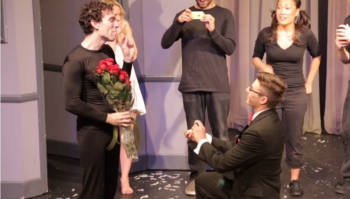 "Michael & Michael's ""Fairy Tale"" Proposal Will Warm Your Heart (And Shed A Tear)"
