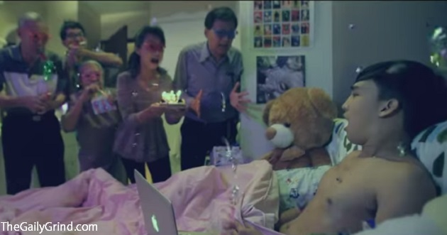 "Hilarious Thai ""Surprise Birthday"" Ad Shows Every Horny Gay Teenager's Worst Nightmare"