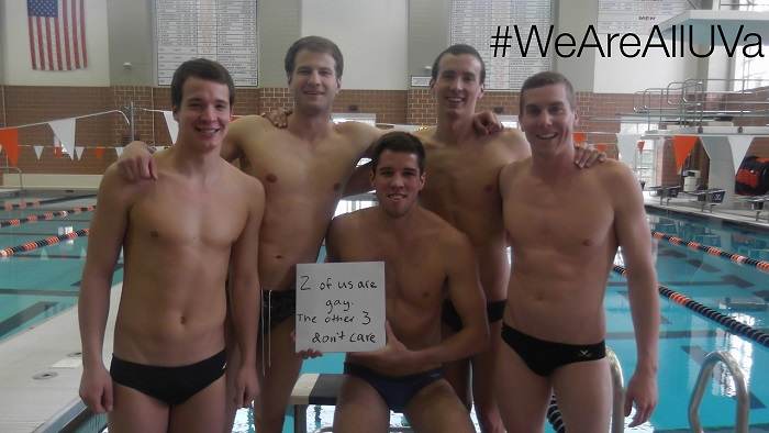 University Of Virginia Swimmers Embrace Their Two Gay Teammates With A Public Tumblr Post