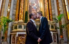 Controversial Photo Exhibit of Gay Couples Kissing Inside Catholic Churches Coming To NYC, Vatican Is Not Happy
