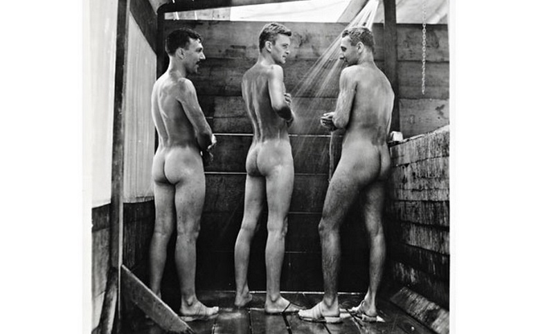 New Book Reveals Vintage Photos Of The Intimate Bonding And Naked Horseplaying Of WWII Soldiers & Sailors