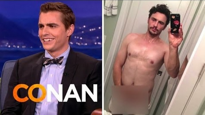 Dave Franco Talks To Conan About Brother James' Homoerotic Antics