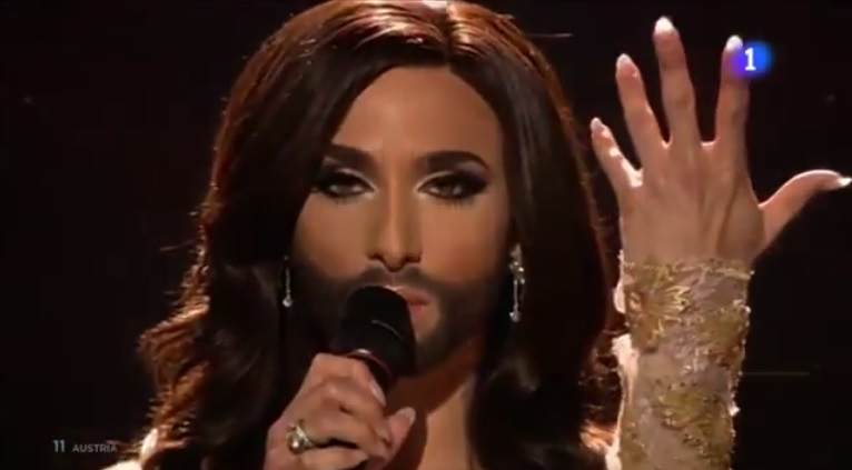 Austria's Bearded Drag Queen Wins Eurovision Song Competition