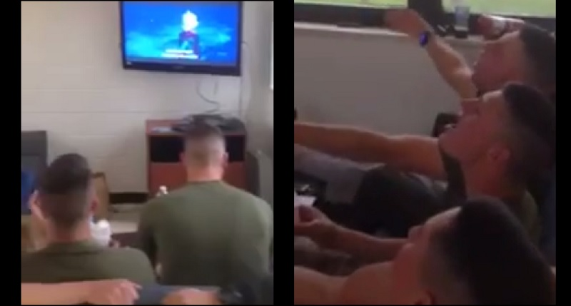 "Marines Singing ""Let It Go"" From 'Frozen' Will Make Your Day!"